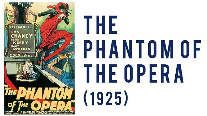 decor The Phantom of the Opera 1925 American silent horror film poster tin sign