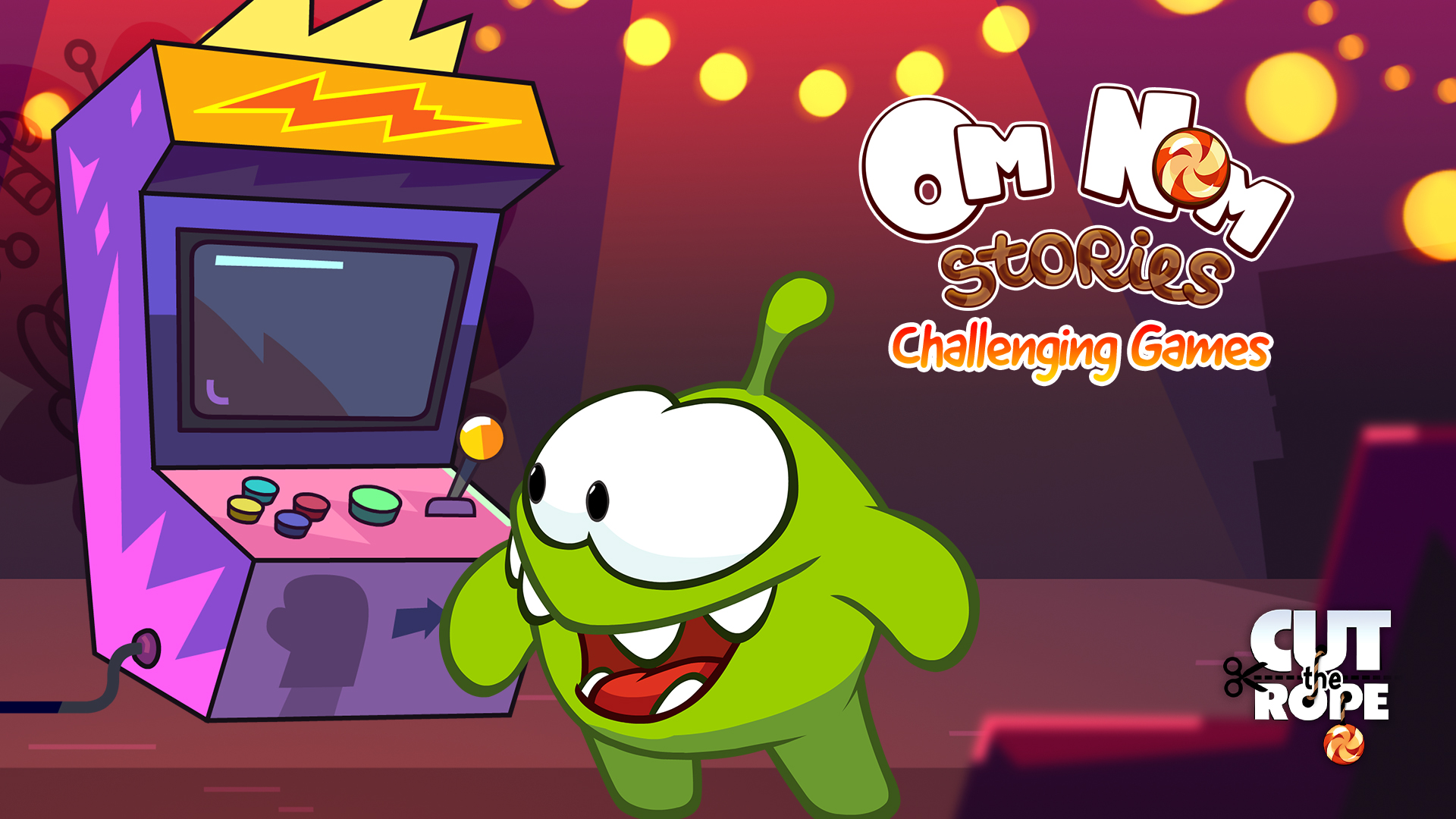 Cut The Rope: Om Nom Stories - Challenging Games