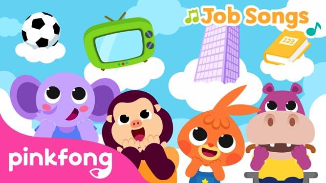 Pinkfong! Job Songs