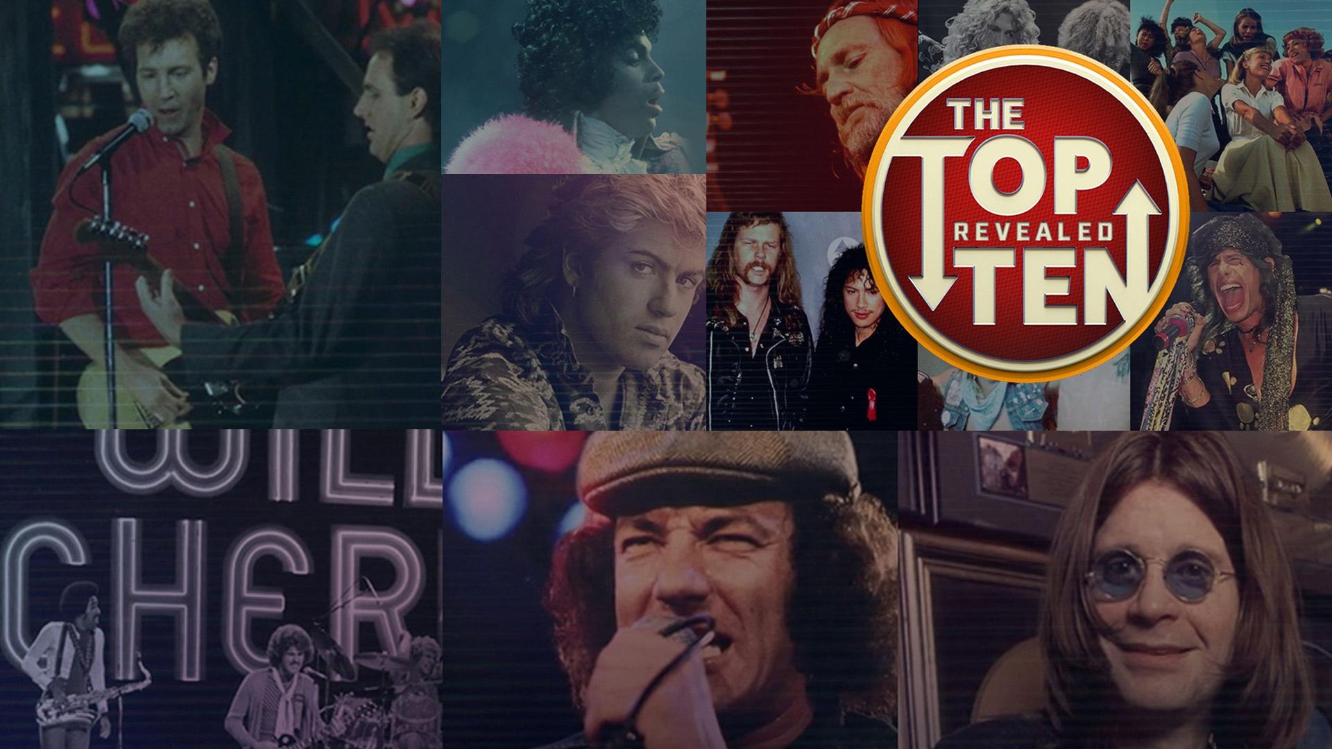 Various Artists - The Top Ten Revealed: 80's Rock Ballads