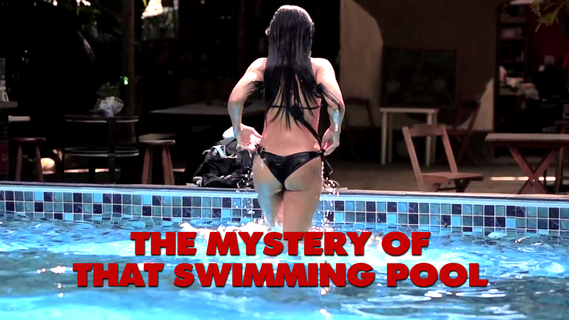 The Mystery of That Swimming Pool