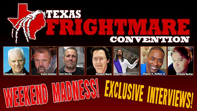 Texas Frightmare 2021 with Charles Band