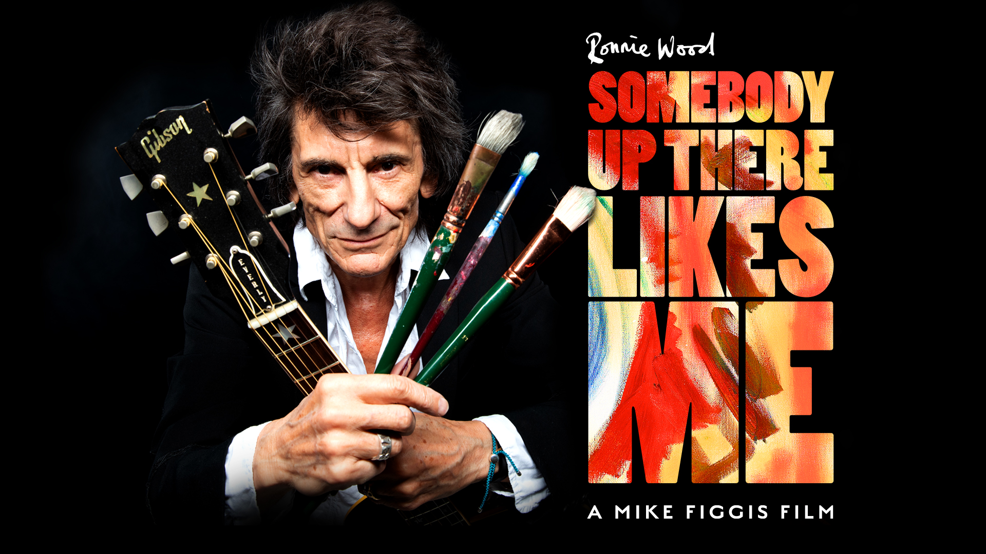 Ronnie Wood - Someone Up There Likes Me