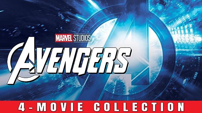 Avengers 4-Movie Collection + Bonus
