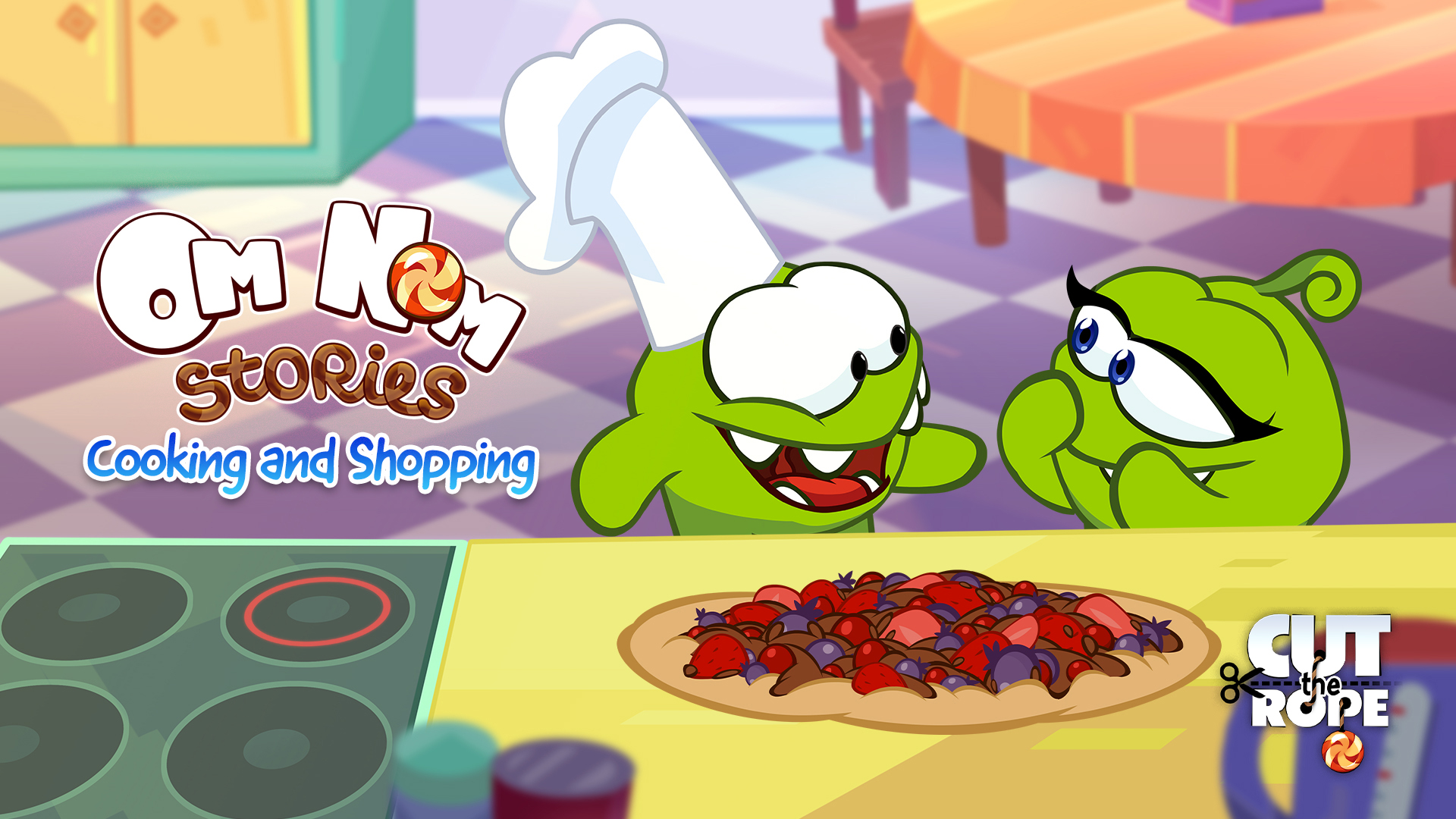 Cut The Rope: Om Nom Stories - Cooking and Shopping