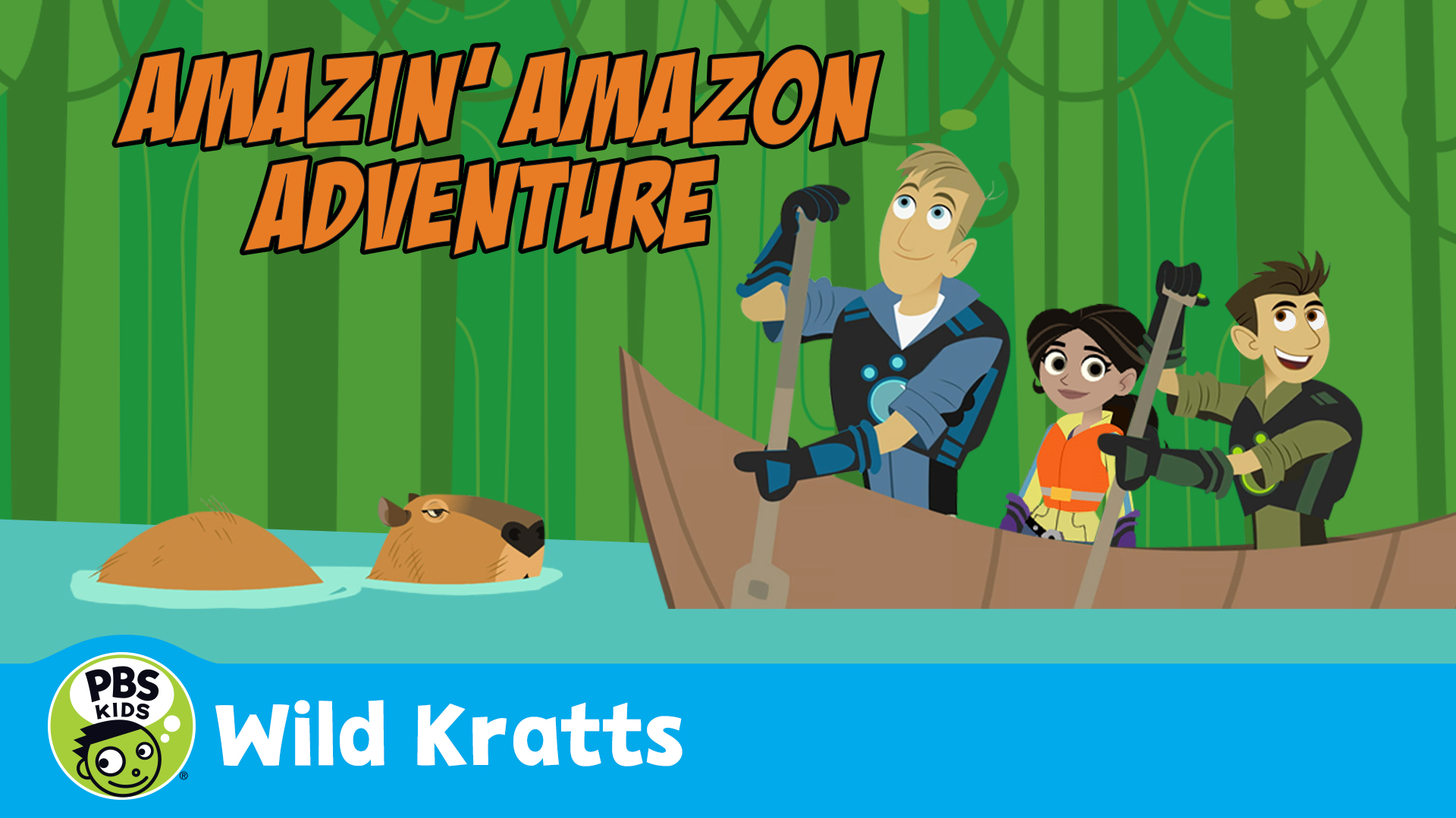 Wild Kratts: Amazin' Amazon Adventure