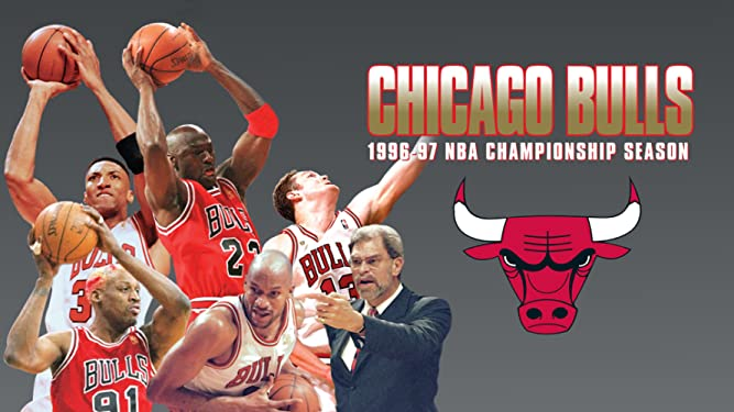 1996-1997 NBA Championship Season - Chicago Bulls