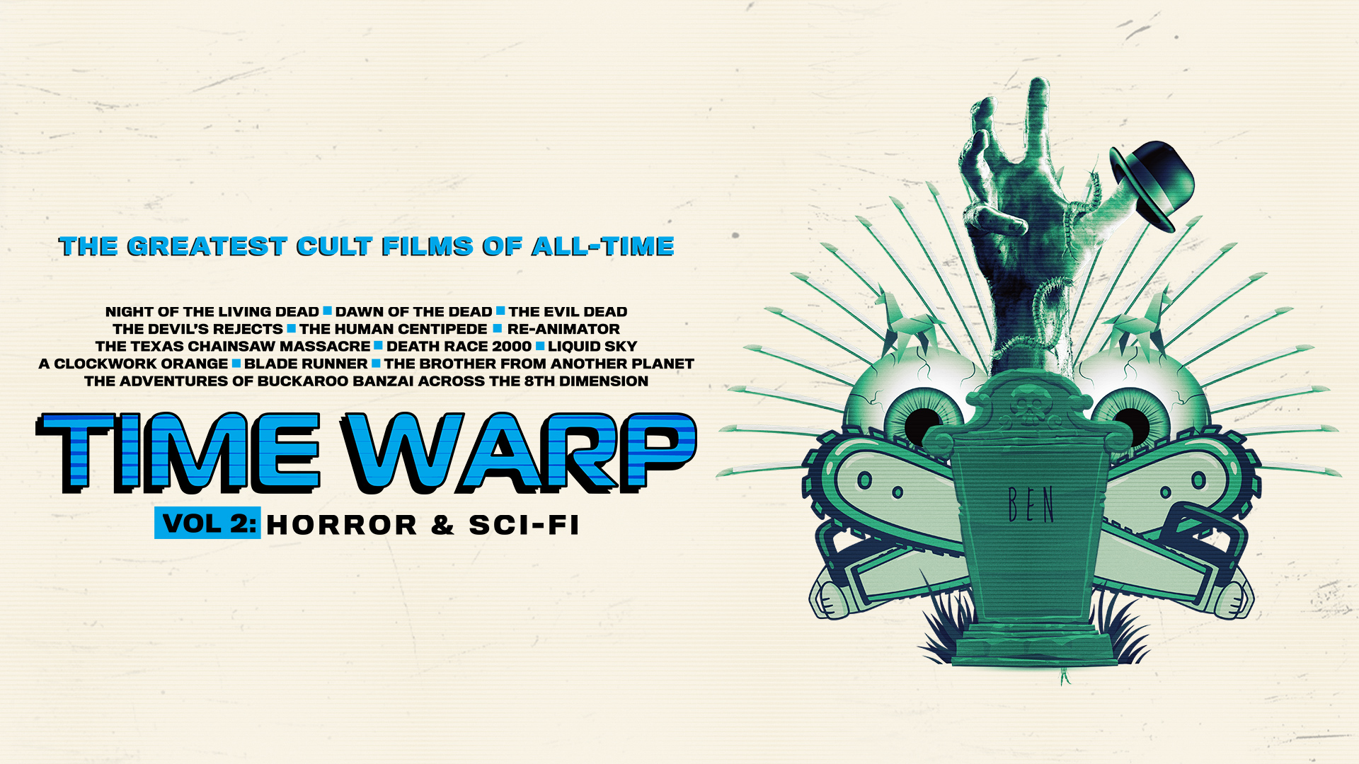 Time Warp: The Greatest Cult Films of All Time Vol 2 - Horror & Sci-Fi