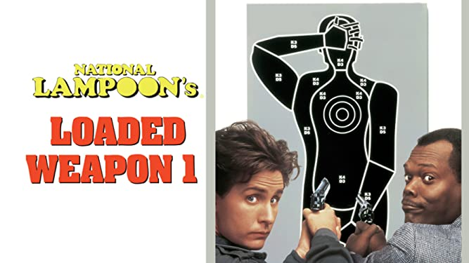 WRAPPER NATIONAL LAMPOON/'S LOADED WEAPON 1 FULL SET X110