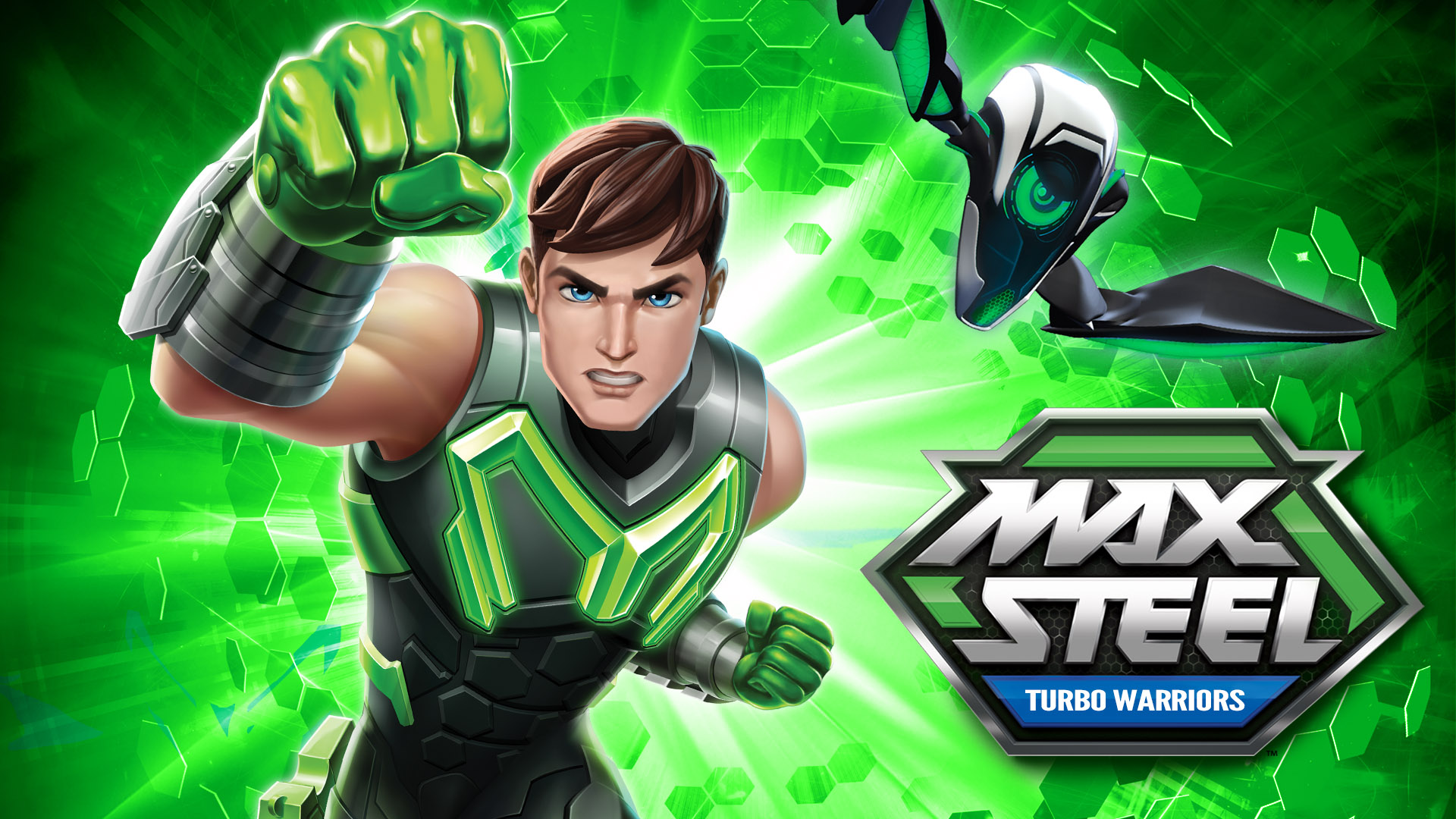Max Steel Turbo Warriors