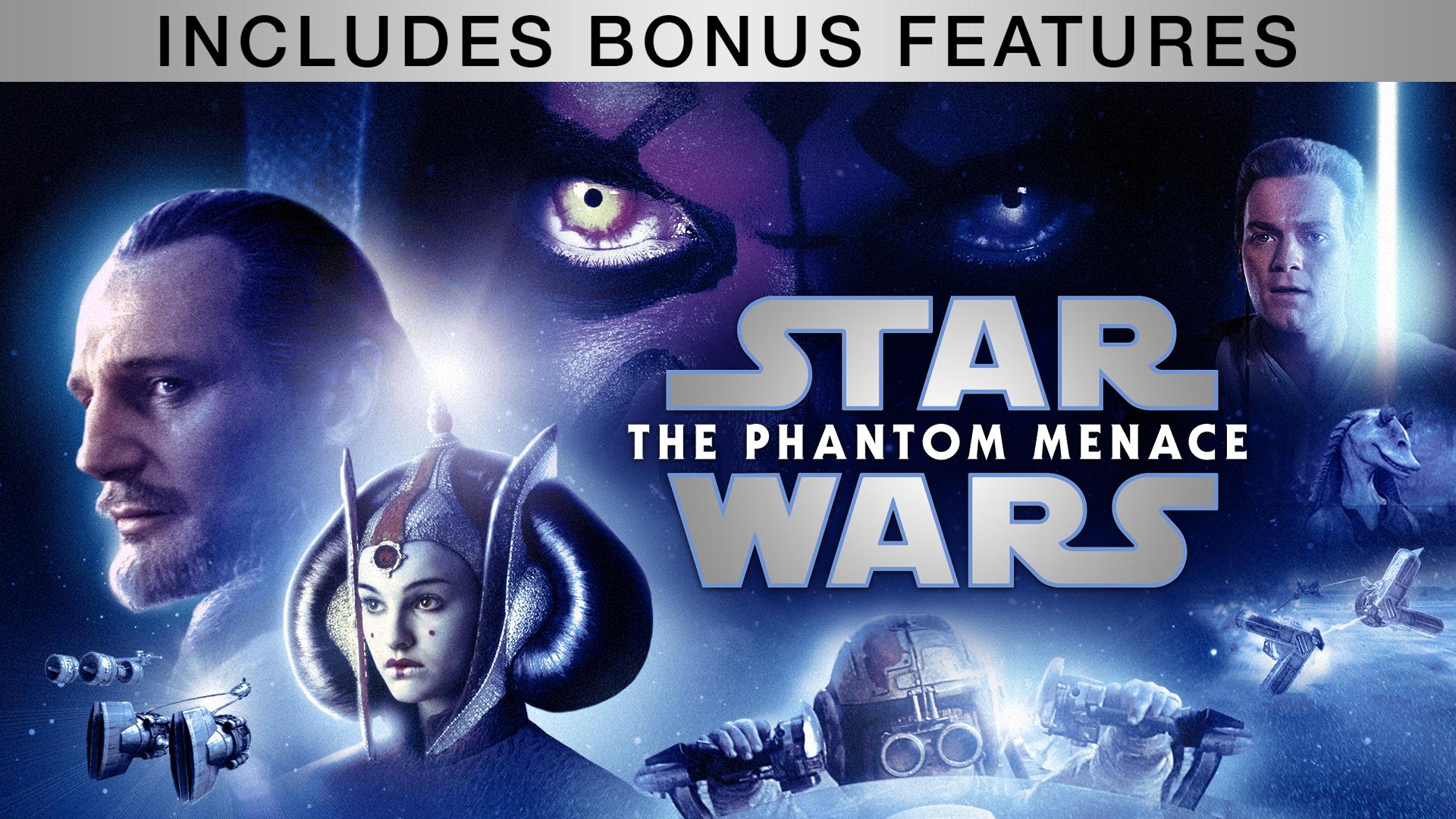 Star Wars: The Phantom Menace (Plus Bonus Content)
