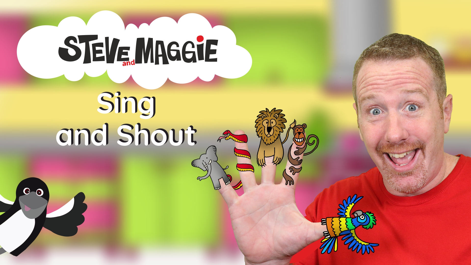 Steve and Maggie - Sing and Shout