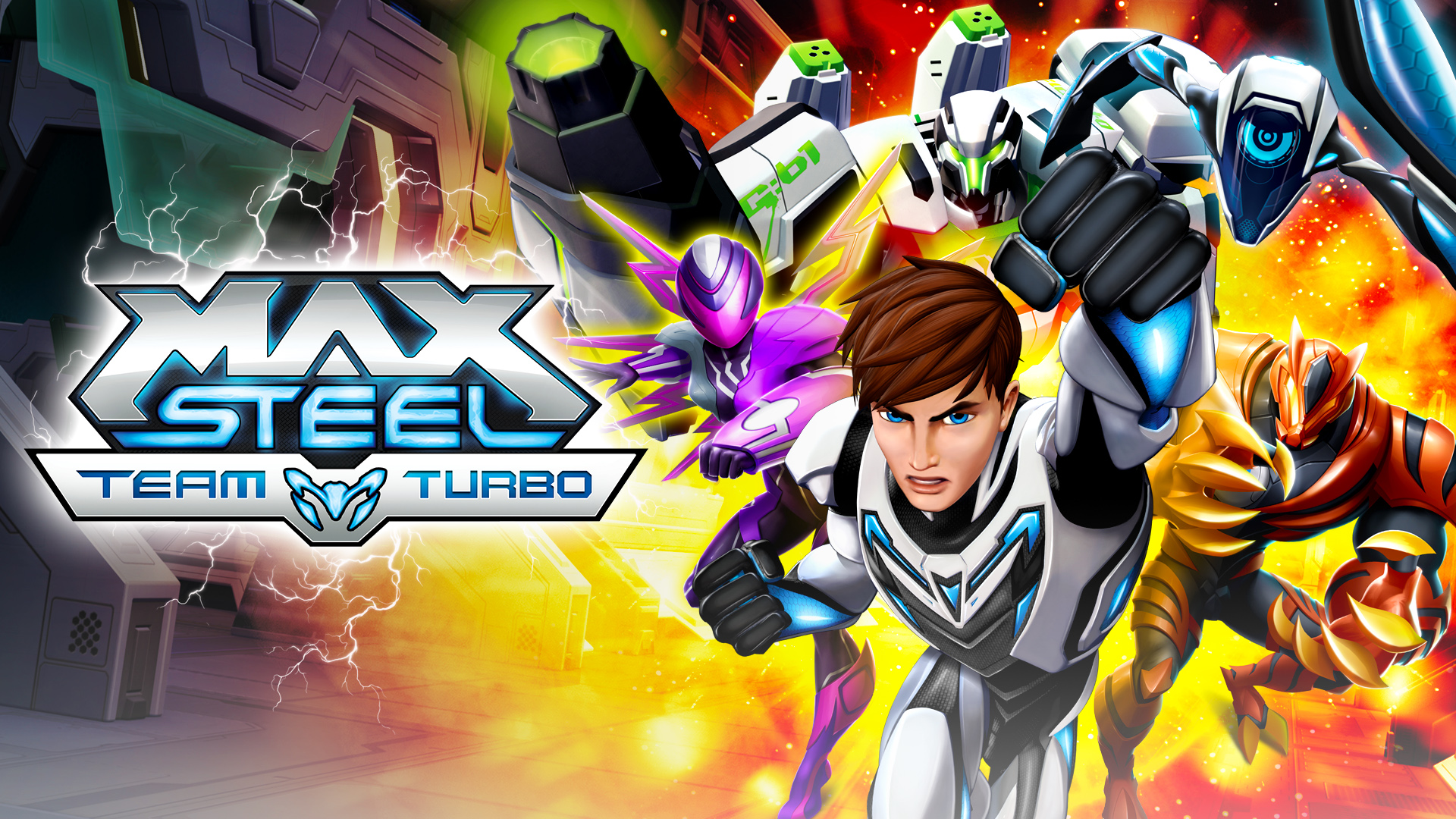 Max Steel Team Turbo