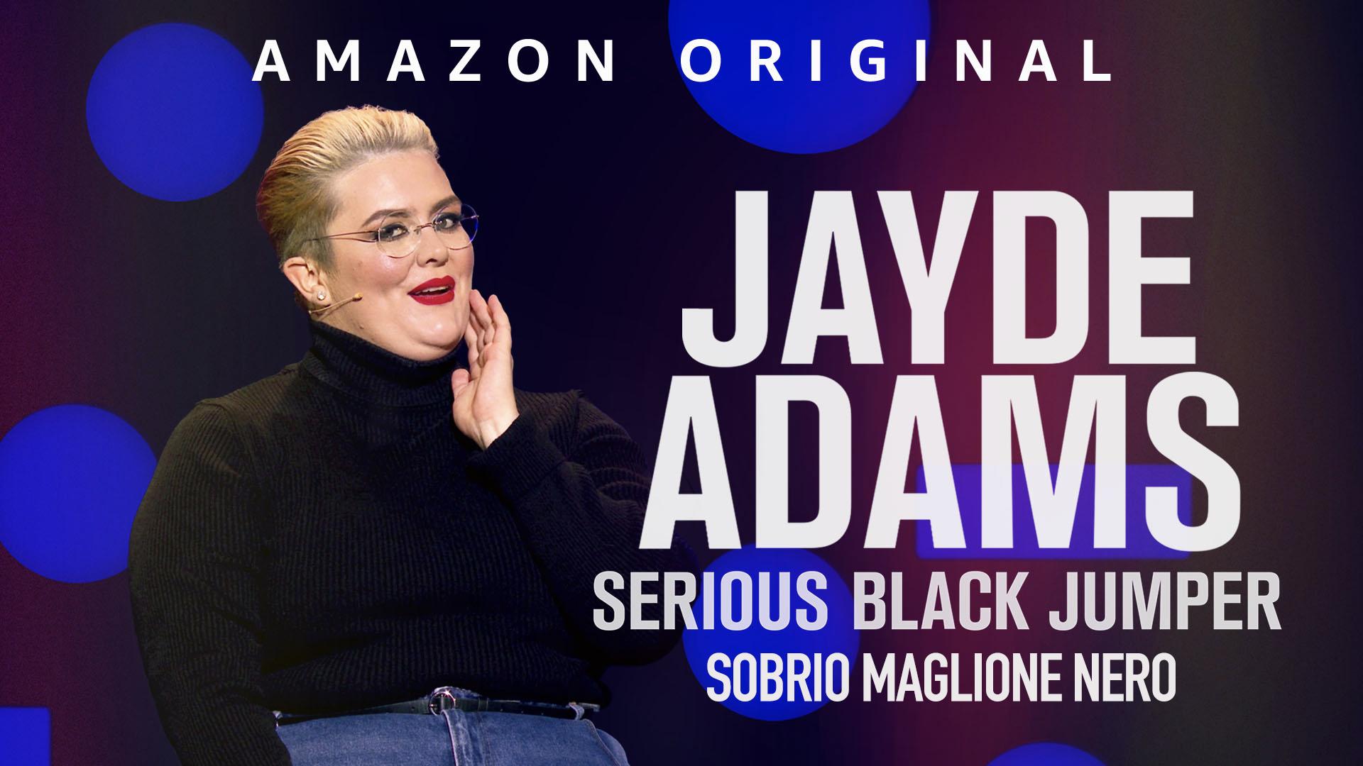 Jayde Adams: Sobrio maglione nero