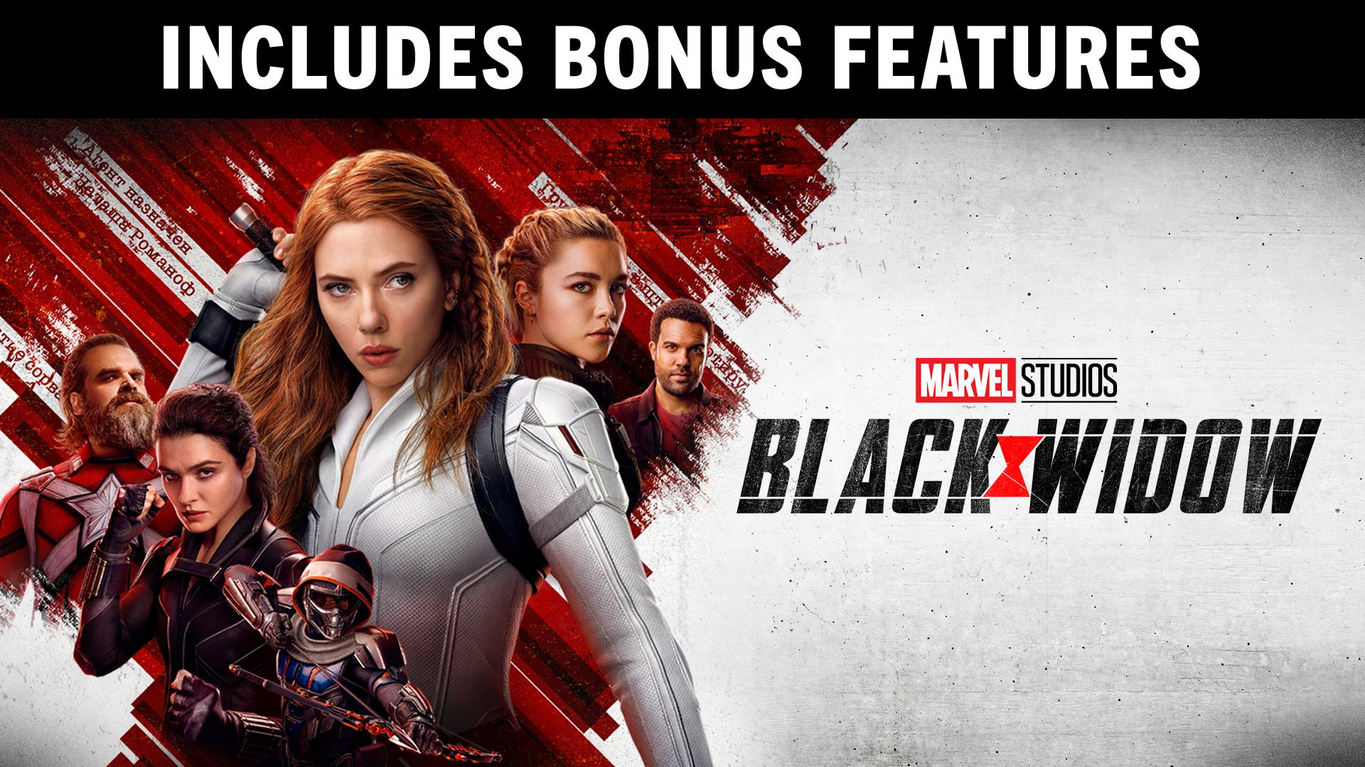 Black Widow + Bonus Features