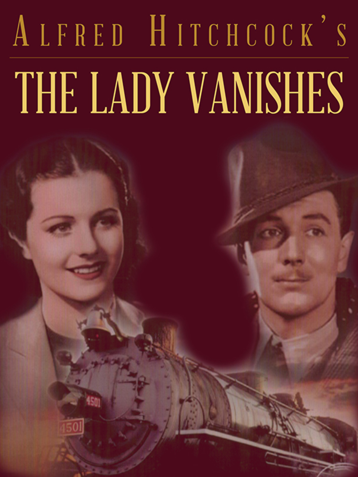 The Lady Vanishes (1938, dir, Alfred Hitchcock) bootleg DVD artwork