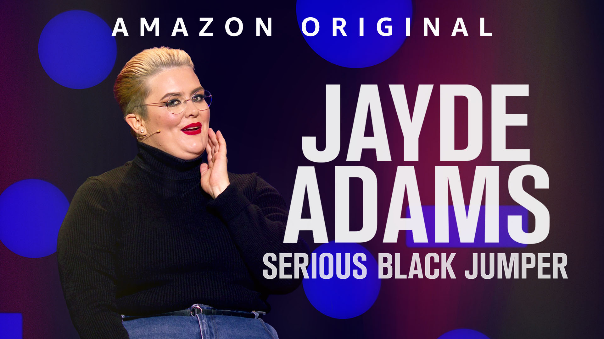Jayde Adams: Serious Black Jumper