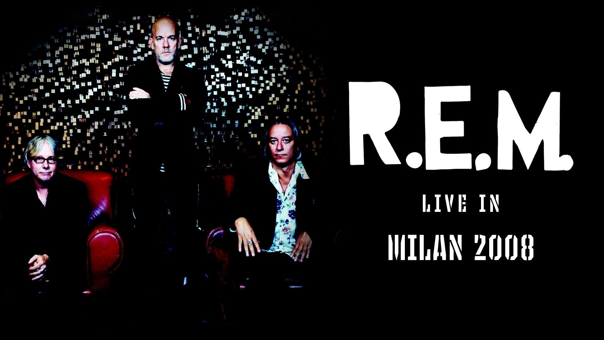 R.E.M.: Live in Milan 2008