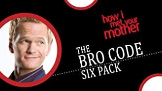 How I Met Your Mother: Bro Code Six-Pack