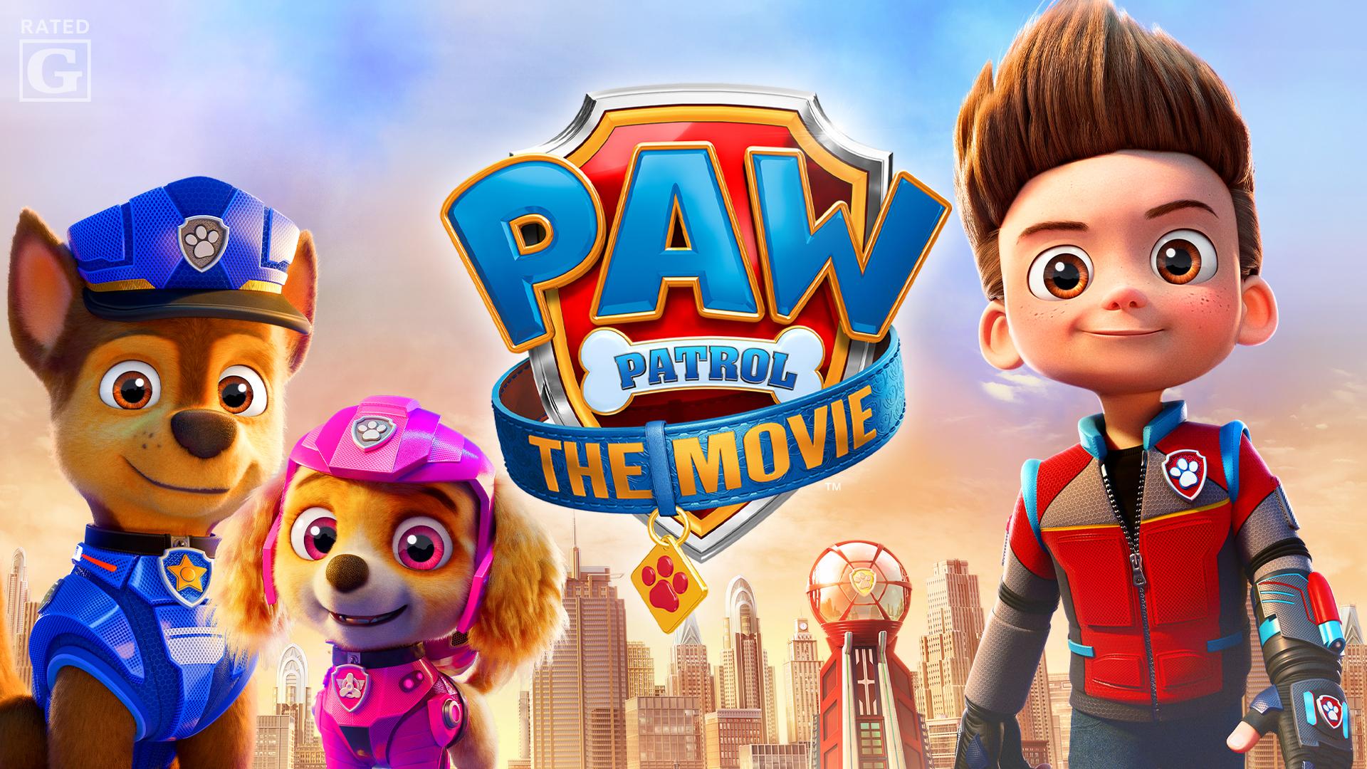 PAW Patrol: The Movie (4K UHD)