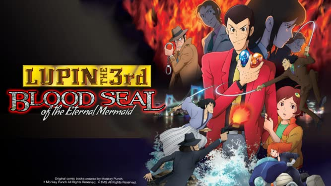 Lupin the 3rd - Blood Seal of the Eternal Mermaid (English Dub)