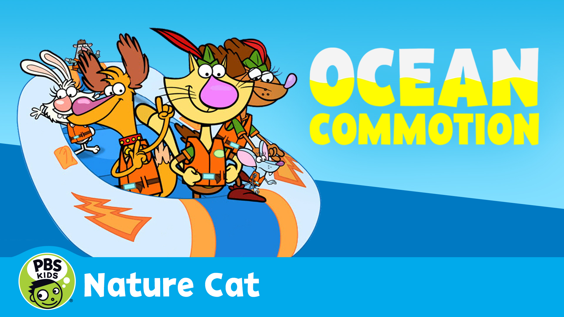 Nature Cat: Ocean Commotion