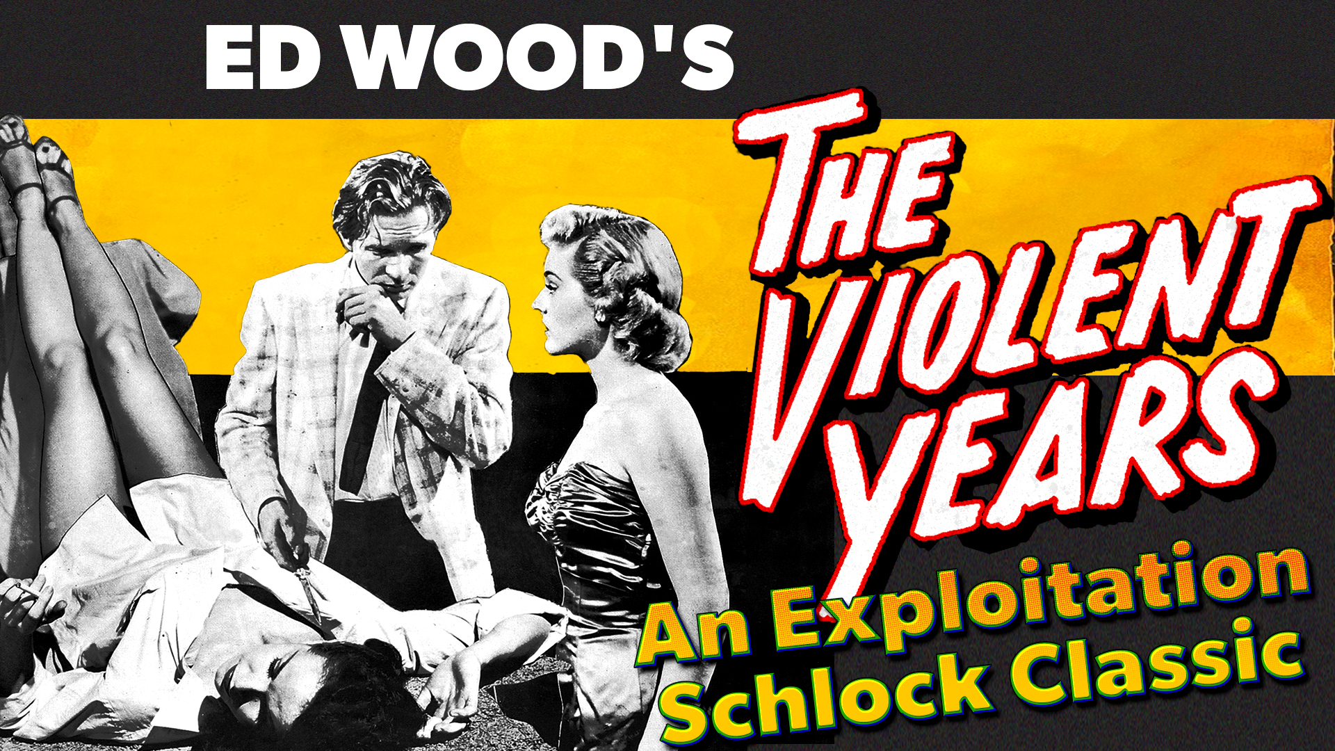 "Ed Wood's ""The Violent Years"" - An Exploitation Schlock Classic"