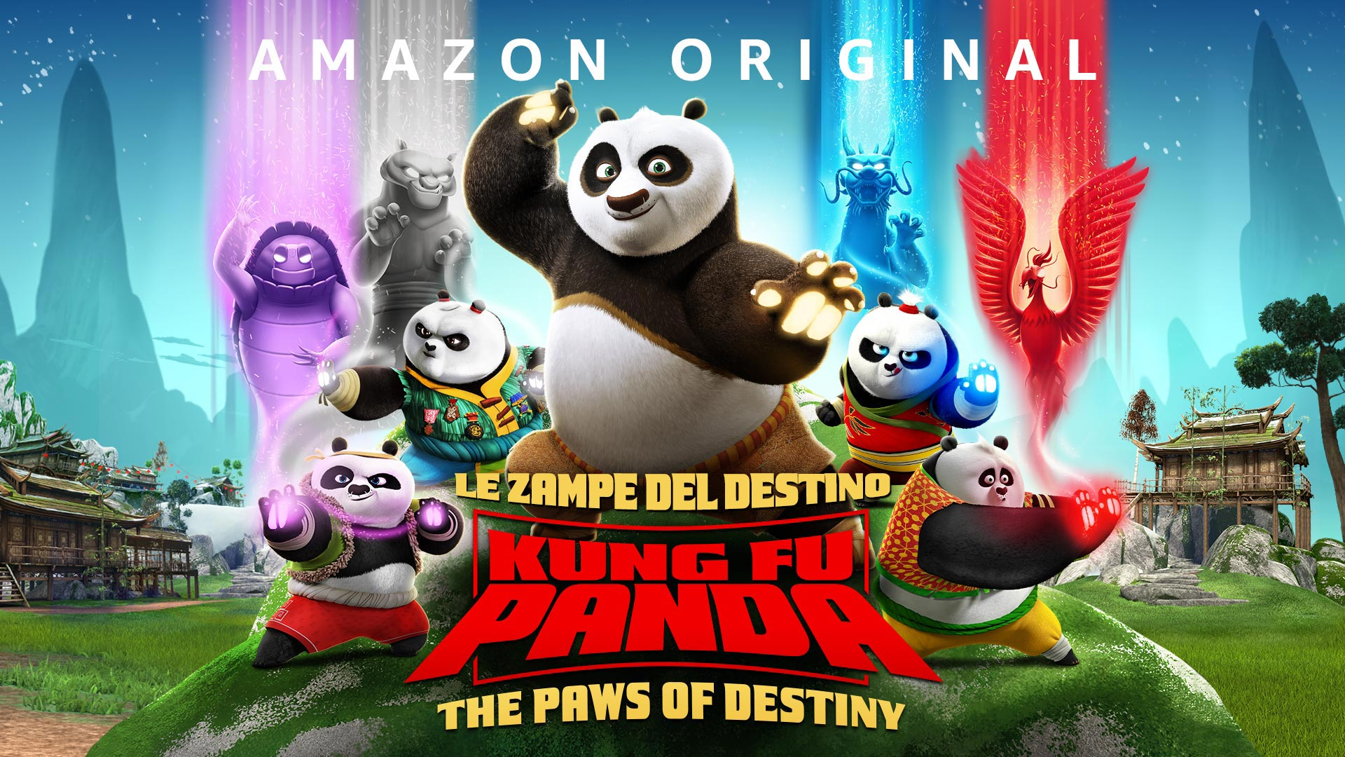 Kung Fu Panda: le zampe del destino - Stagione 1