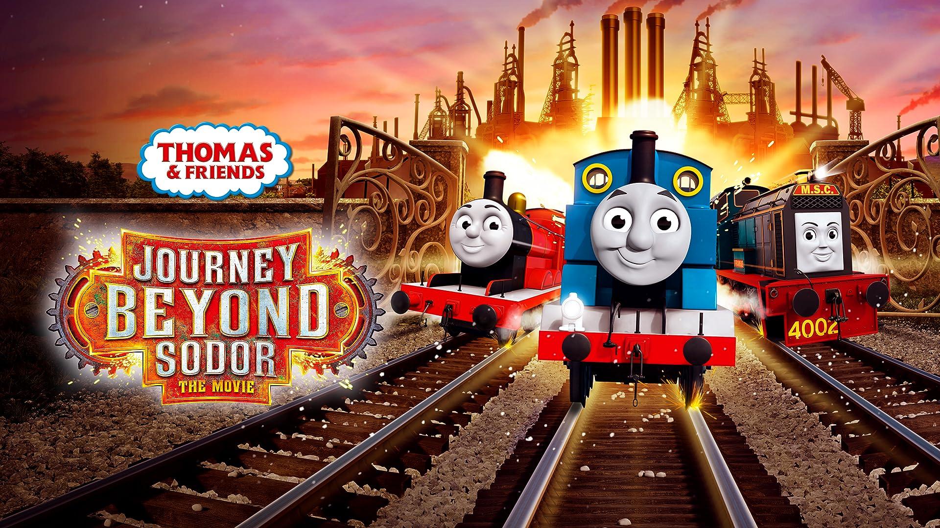 Thomas & Friends: Journey Beyond Sodor (US English, Brazilian Portuguese, Latin America Spanish)