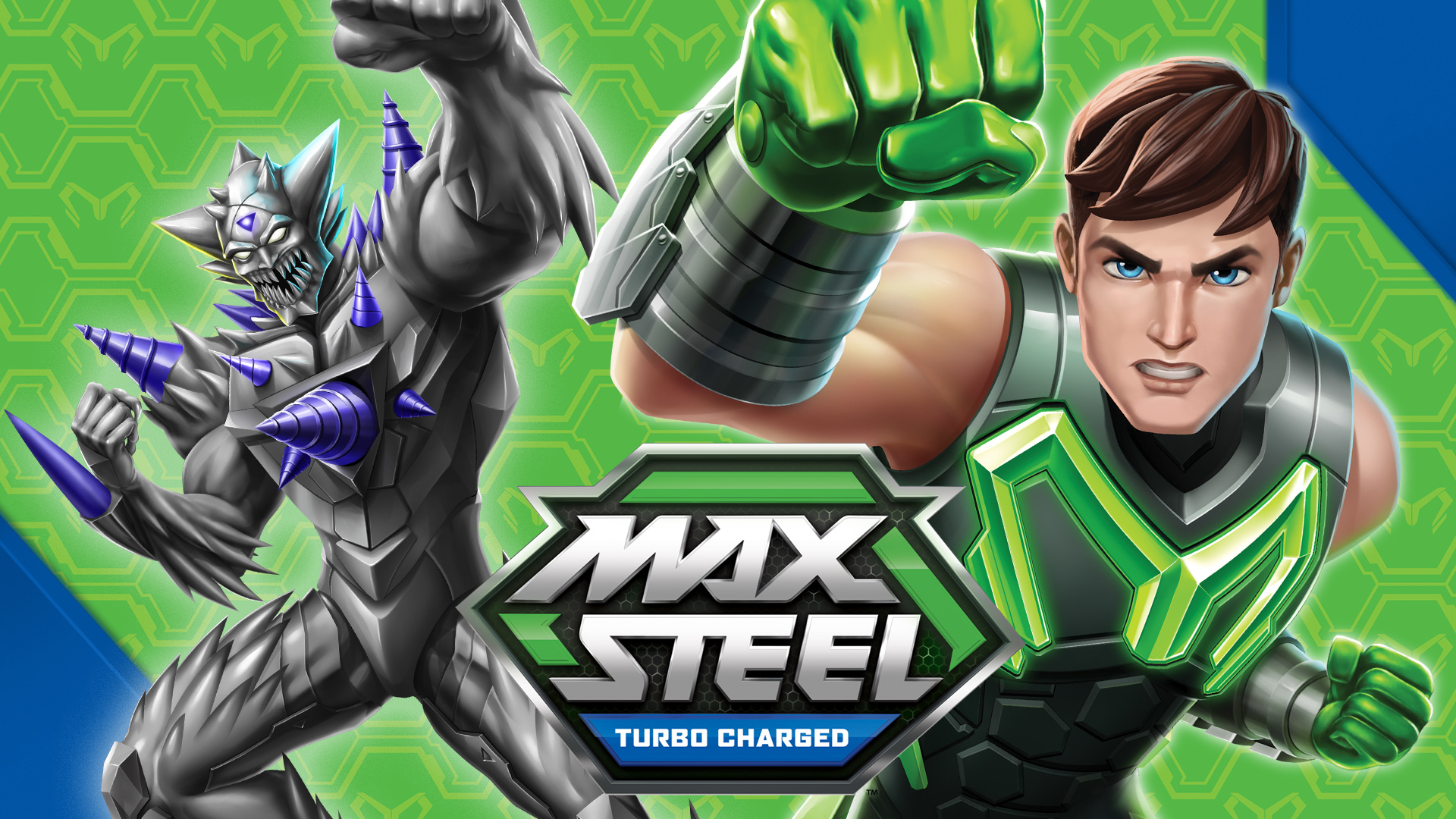 Max Steel Turbo Charged