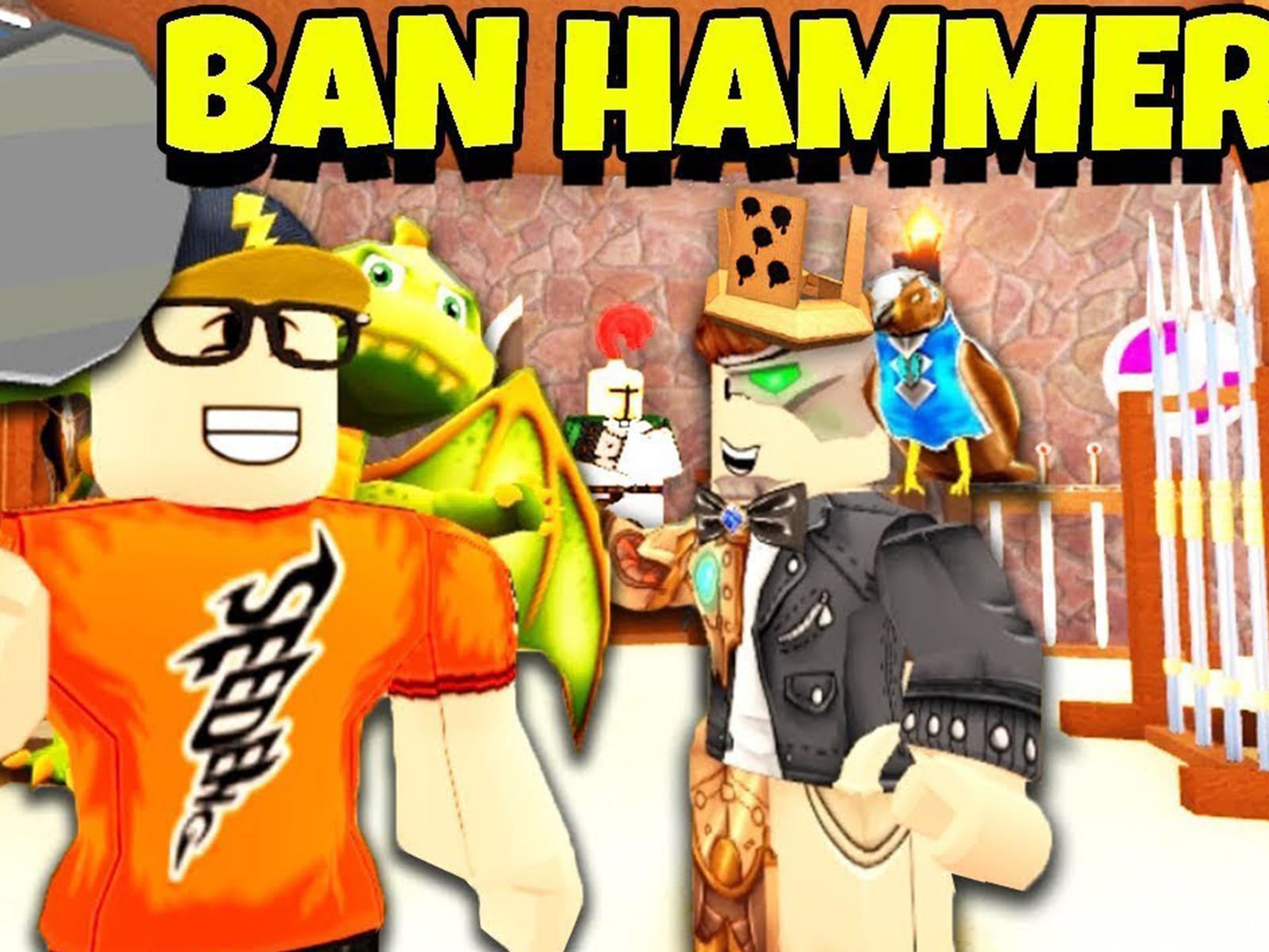 Roblox Ban Hammer Hack Prime Video Clip See Deng