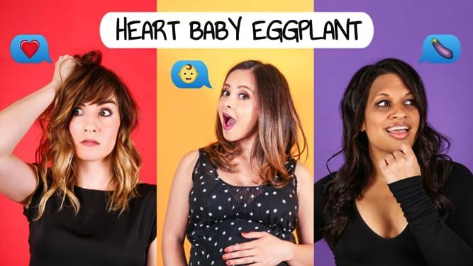Heart Baby Eggplant