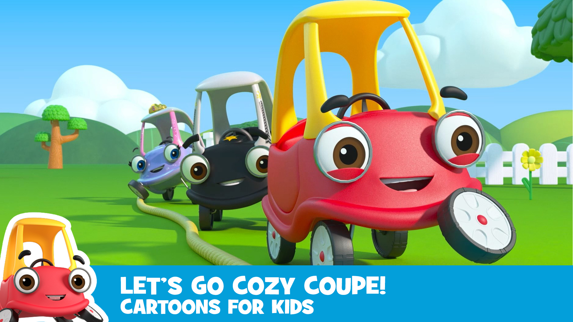 Let's Go Cozy Coupe! - Cartoons for Kids - Season 1