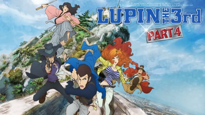 Lupin the 3rd Part 4 (English Dub)