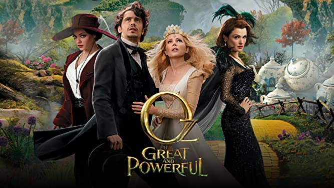 Oz The Great And Powerful (With Bonus Features)
