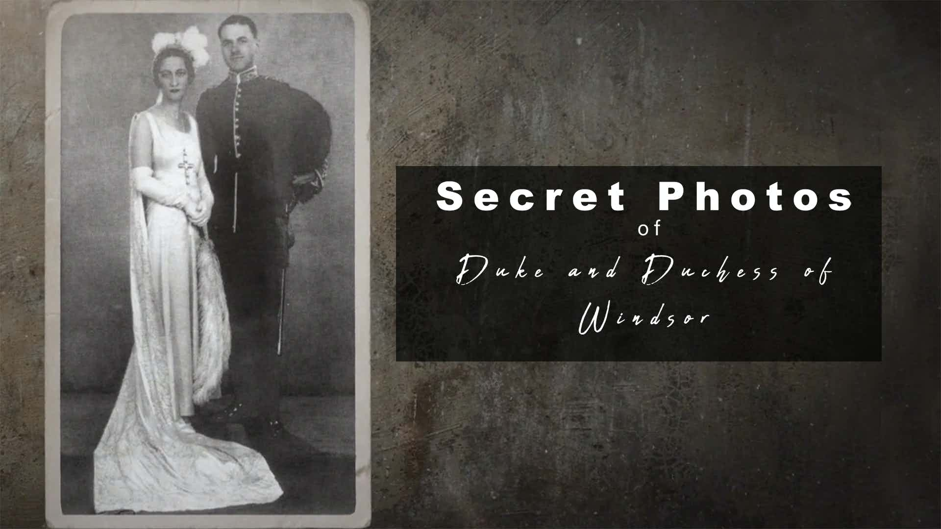 The Secret Photos of the Duke and Duchess of Windsor