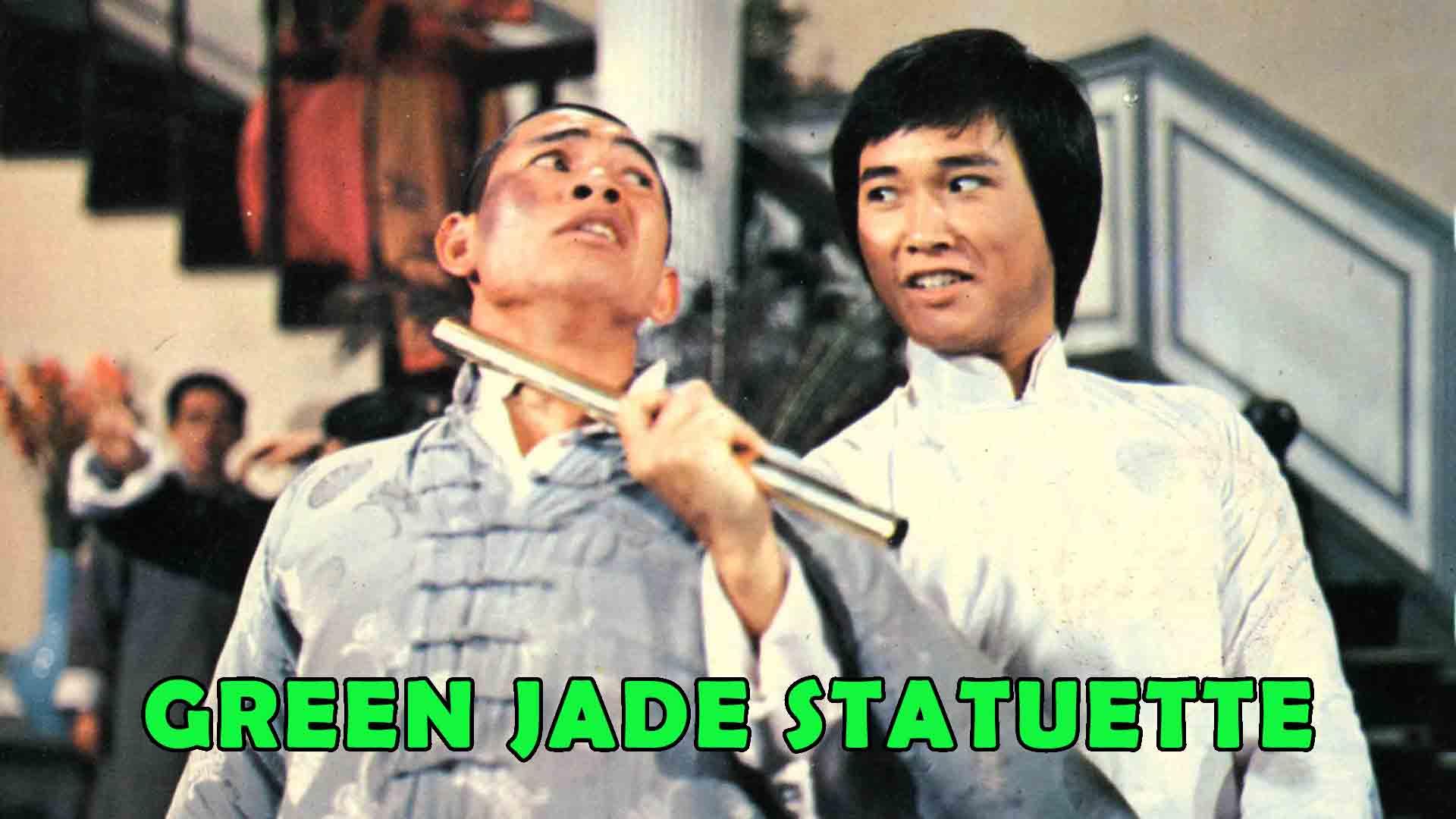 Green Jade Statuette