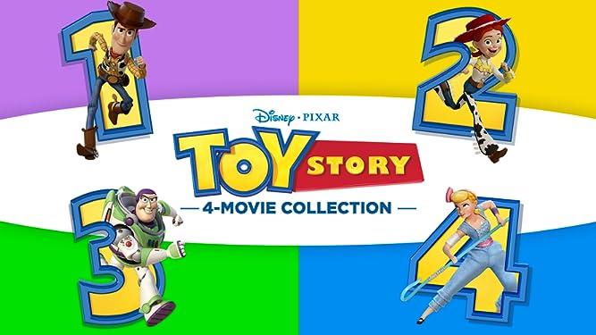 Toy Story 4-Movie Collection + Bonus