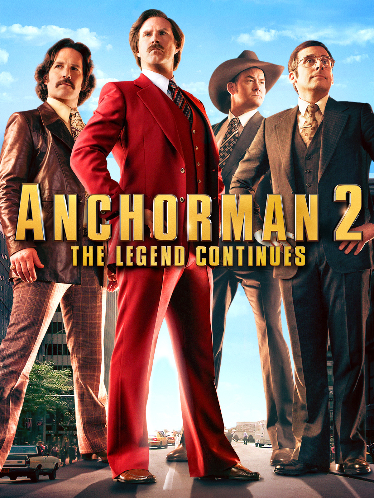 Prime Video Anchorman 2 The Legend Continues