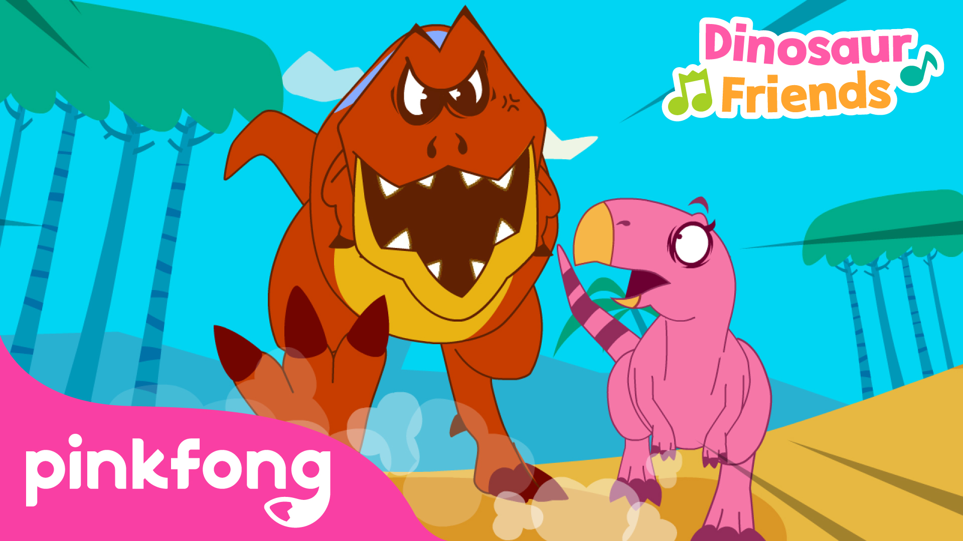Pinkfong! Dinosaur Friends
