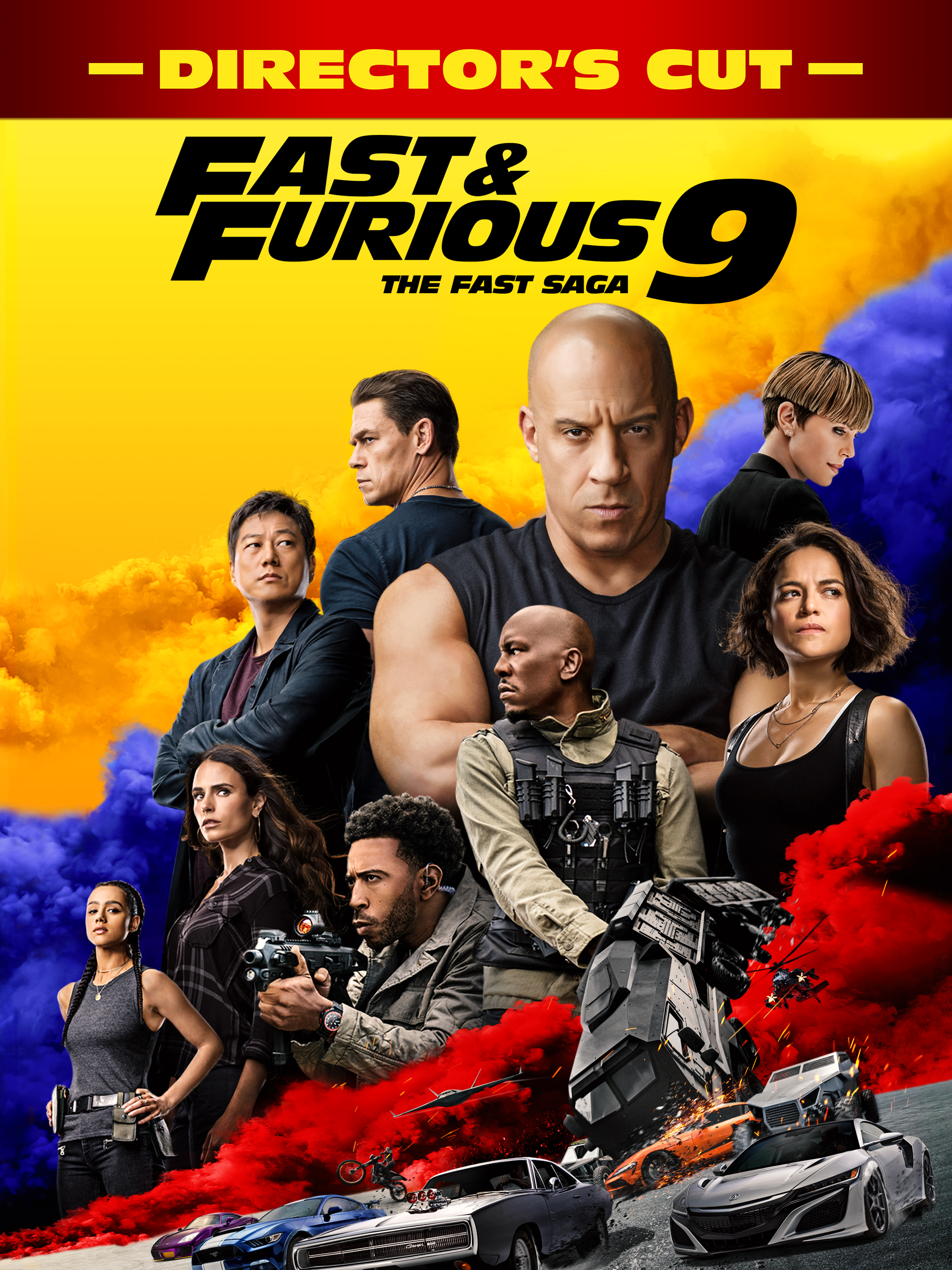 Prime Video: Fast & Furious 9 (Director's Cut)