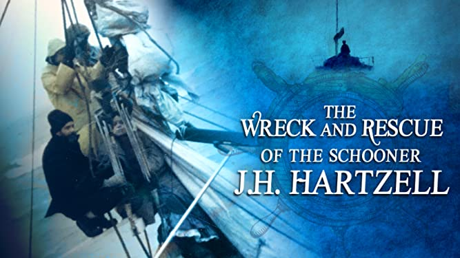 The Wreck and Rescue of the Schooner J.H. Hartzell