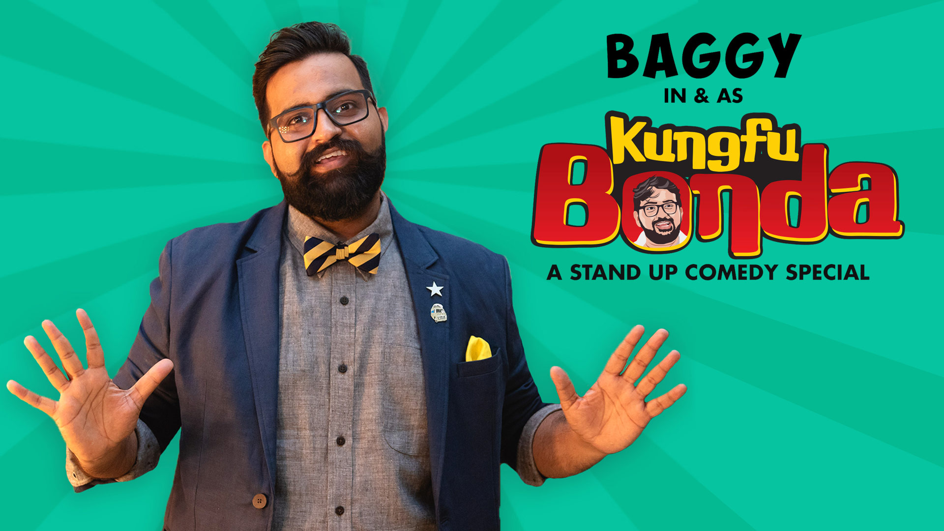 Baggy in & as KungFu Bonda: A Mostly English Stand Up Comedy Special (4K UHD)
