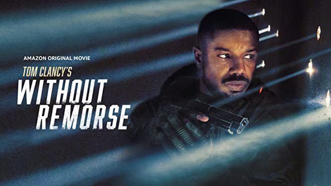 Tom Clancy's Without Remorse 2021 banner HDMoviesFair
