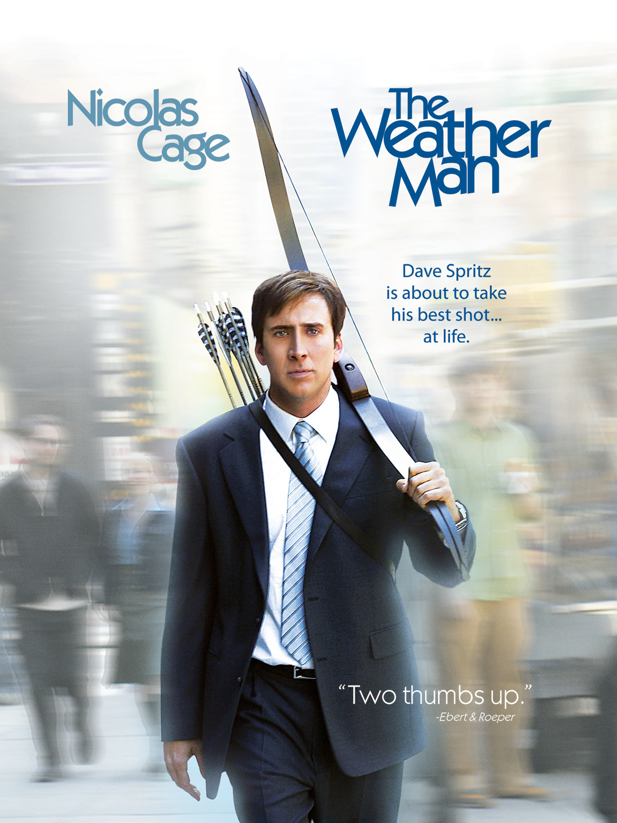 The Weather Man (2005) 720p HDRip Hollywood Movie ORG. [Dual Audio] [Hindi or English] x264 AAC ESubs [1GB]