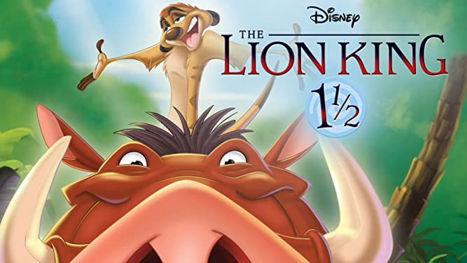 The Lion King 1 1/2 (Theatrical Version)