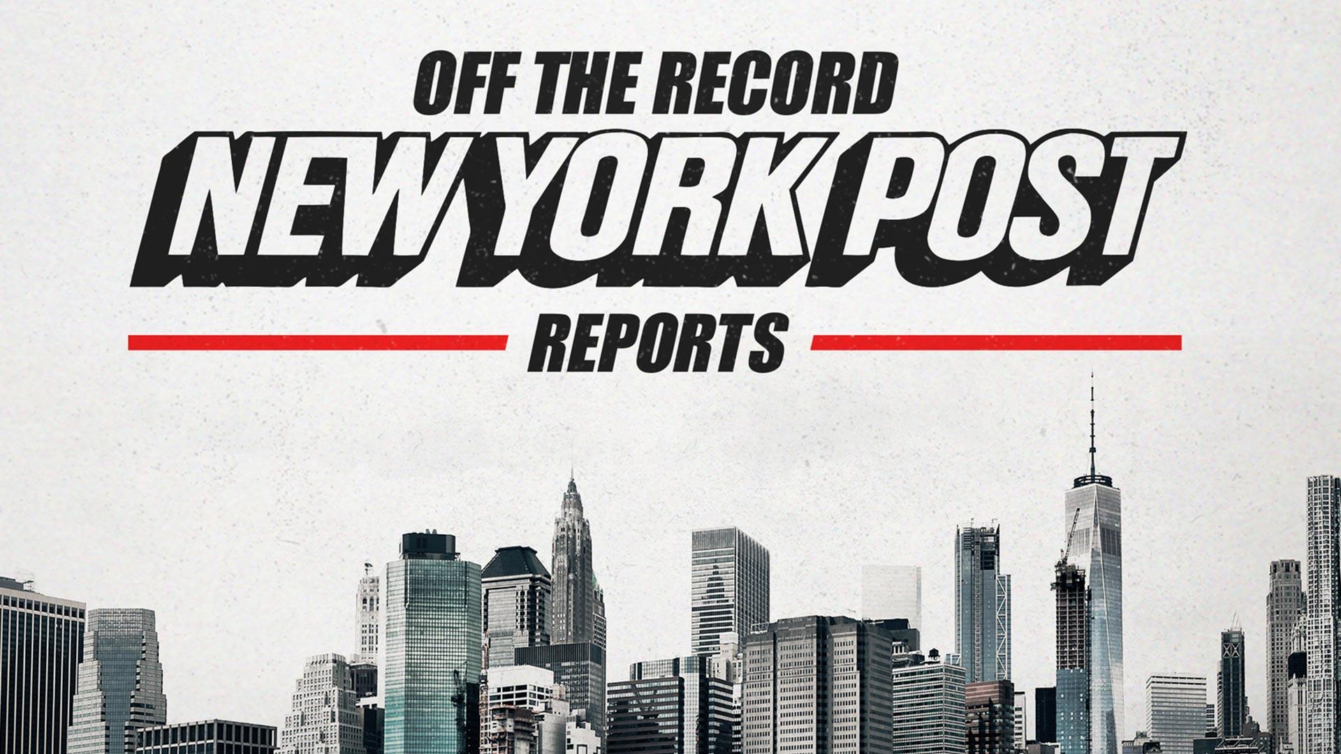 New York Post Reports: Off the Record - Season 1
