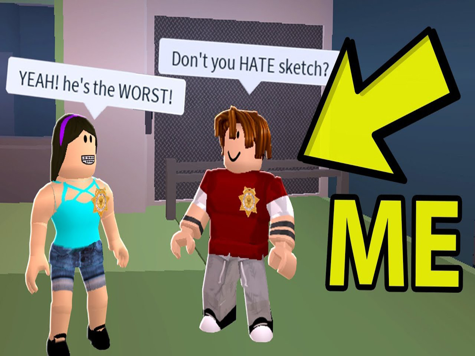 Roblox Guest Haters Prime Video Clip Sketch