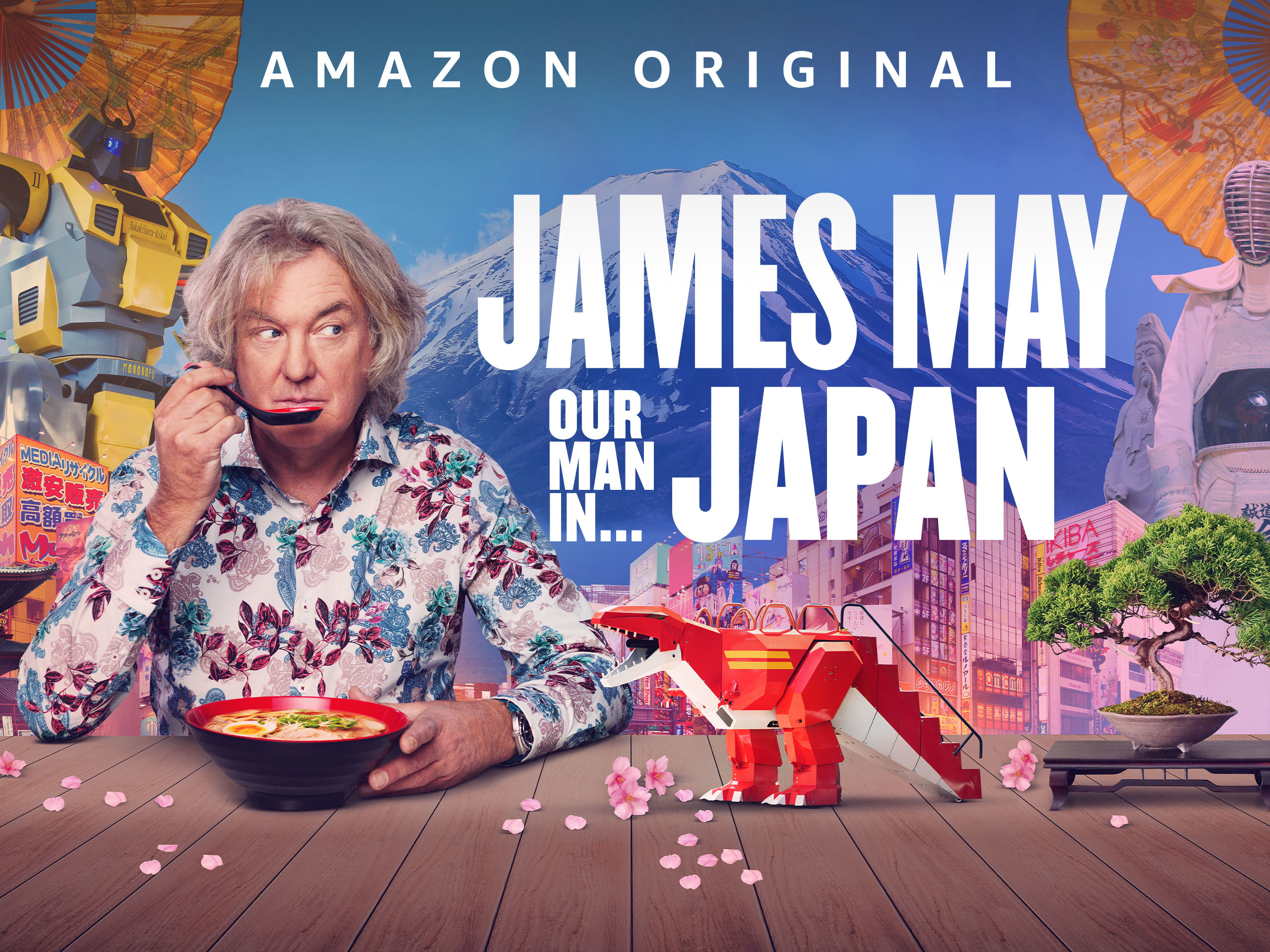 Image result for james may our man in japan poster