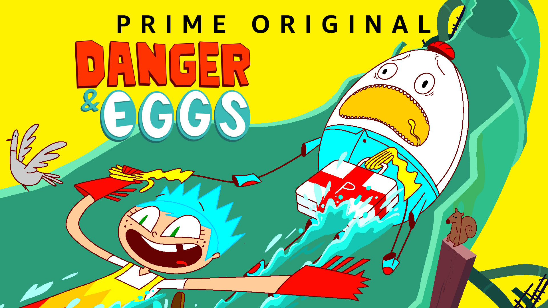 Danger & Eggs - Season 1
